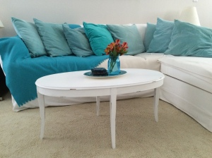 Shabby chic or shabby beach coffee table