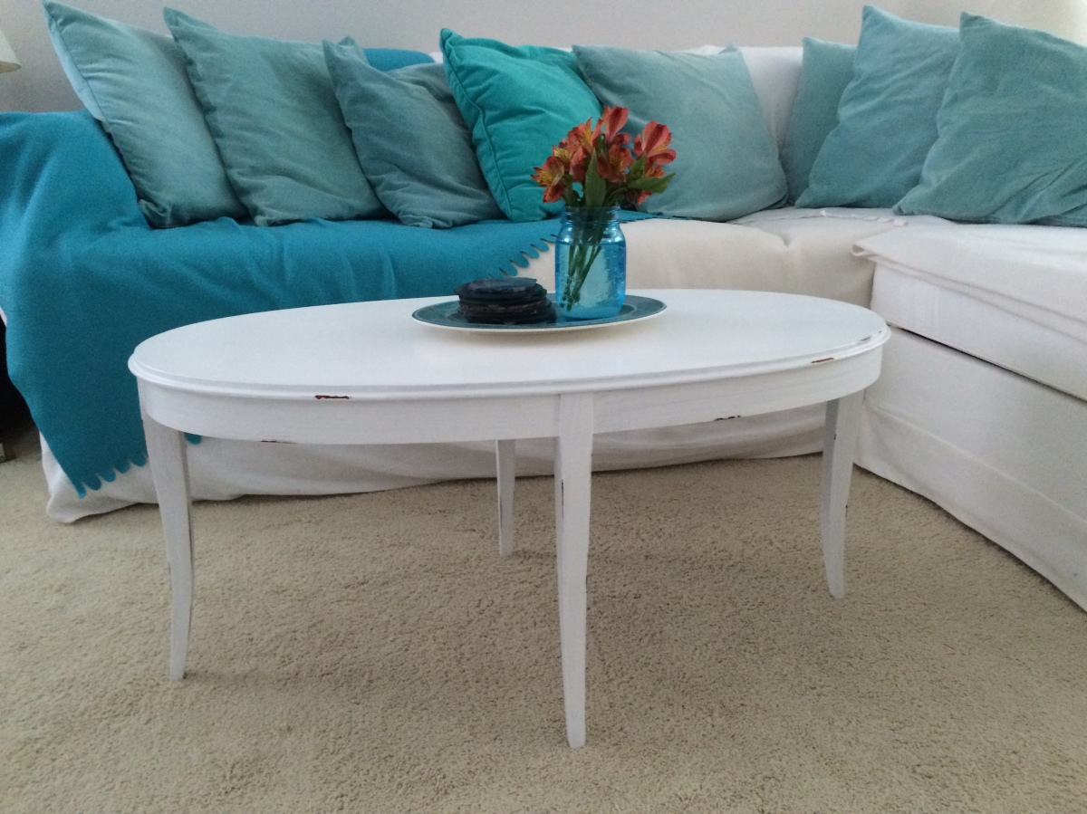How to shabby chic a table seaside sage geotapseo Choice Image