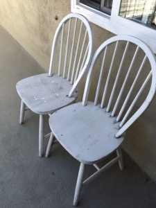Recycled cottage chairs