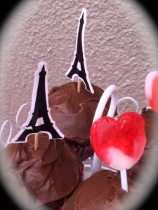 Parisian cupcakes