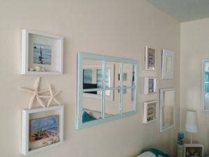 beach cottage art