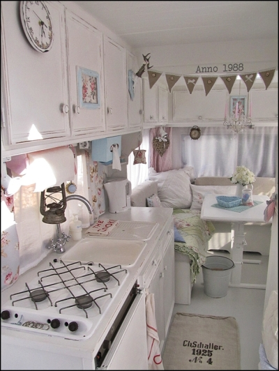 German shabby chic camper