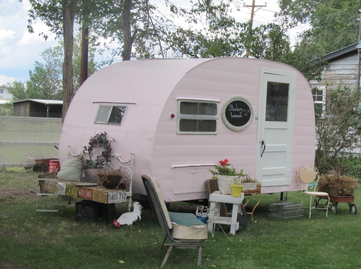 Caravans Summer Campingin A Shabby Chic Camper